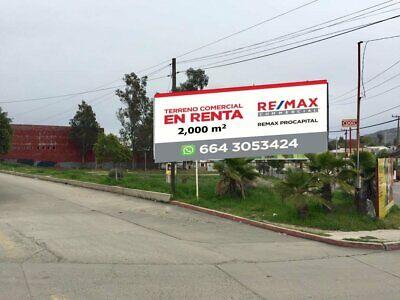 Terreno Comercial en Renta Tecate Baja California