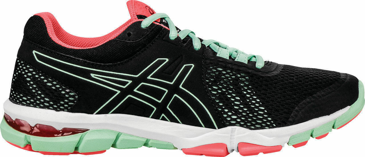 NIB Asics Gel-Craze TR 4 shoes Black Onyx Bay Mint S755N-9099 Women's Sz 6 -11
