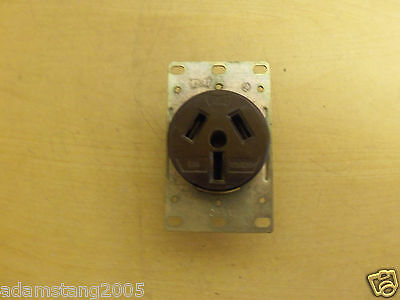 Eagle EG 4-Wire Outlet Receptacle 125//250V 50A