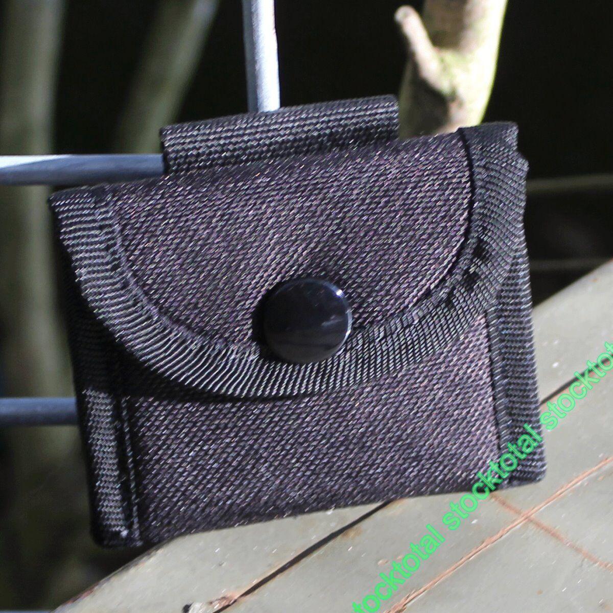 Funda en en cordura en Funda color negro para guantes latex. Cierre mediante velcro.74306 120052