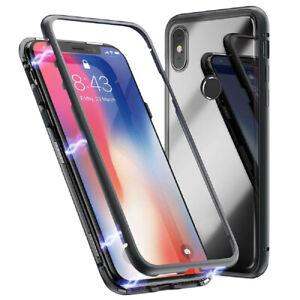 Aimant-Cover-Case-Pour-Xiaomi-MI-8-Aluminum-Plastique-Brillant