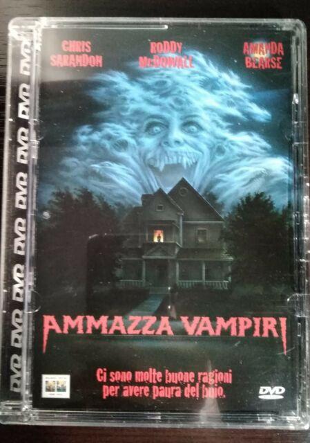 Ammazza vampiri (1985) DVD *fuori catalogo* Jewel case
