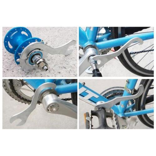 Remover Wrench Bicycle Bike Lock Bottom Bracket Repair Spanner Wrench Tool HO