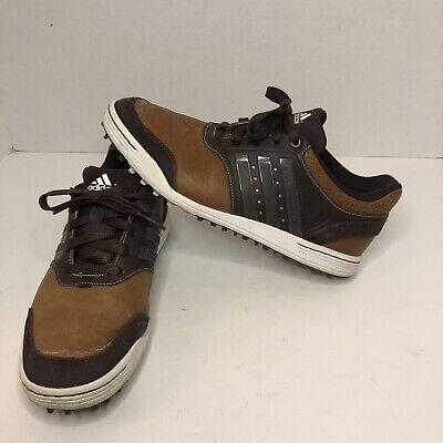 Adidas Adicross III Brown/Tan Q46651 Golf Spikeless Shoes Men's Size 8 US EUC | eBay