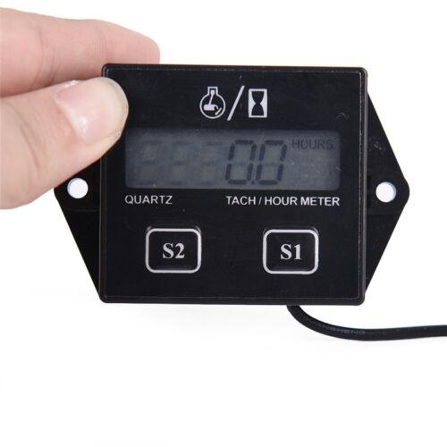 DigitalerDrehzahlmesser Drehzahlmesser-StundenzählerInduktiv für MotorradmotorZJ