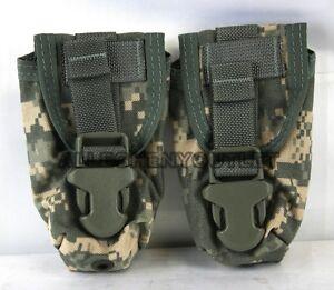 Lot Of 2 Us Military Army Acu Flashbang Flash Bang Grenade Ammo