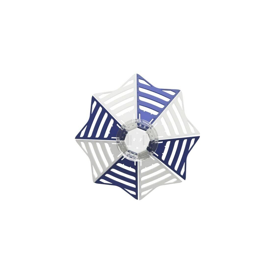 HCam blu & bianca, Paragliding Chasecam, follow aerodynamics cam, GoPro jHook