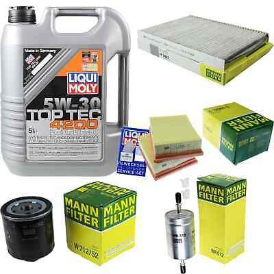 Filterpaket Filterset Filter Filterkit für VW Polo 6N2  1,4 44KW 60PS AKK AUD