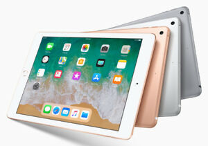 Apple-iPad-2018-128gb-Wifi-9-7-034-Space-Gray-6th-Gen-Brand-New-cybersale-jeptall