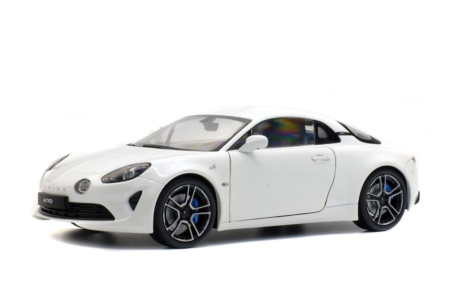 1 18 Solido Alpine A110 2017 Blanc S1801602 cochesaescala