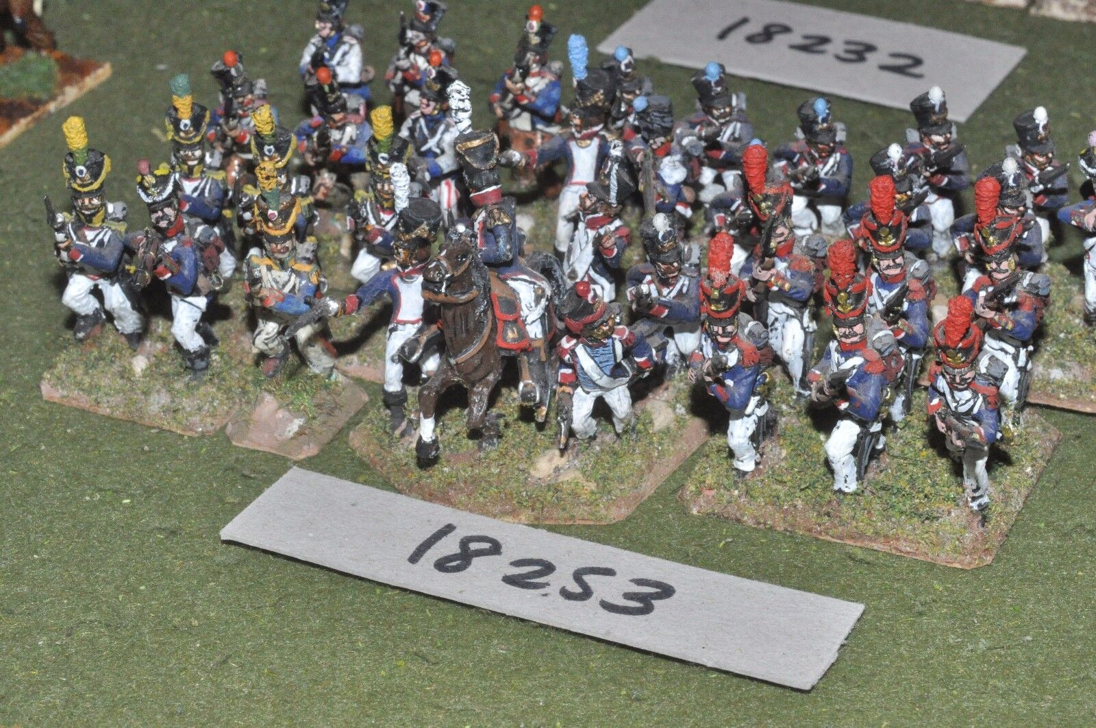 25mm napoleonic   french - infantry 36 figs - - - inf (18253) 69764b