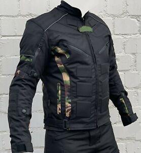 Motorradjacke-Jacke-herausnehmbare-Protektoren-Textil-Motorrad-Jacke-Roller