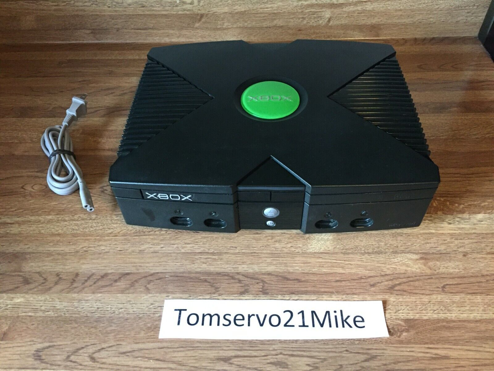 Original Microsoft XBOX Video Game System Console Only - Tested - FREE SHIPPING