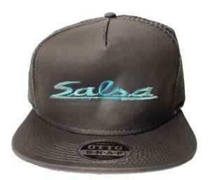 OTTO CAP Snapback Hat Men s Hat Salsa Trucker Mesh Snapback Charcoal ... 47b6a62bf184