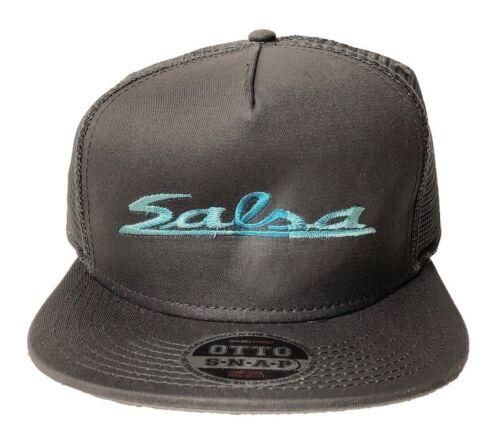 OTTO CAP Snapback Hat Men/'s Hat Salsa Trucker Mesh Charcoal//Teal BUNDLE DEAL