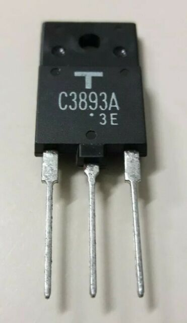 Transistor NPN 2SC3893A 3893A Silicon Toshiba/SST TO-3PHIS