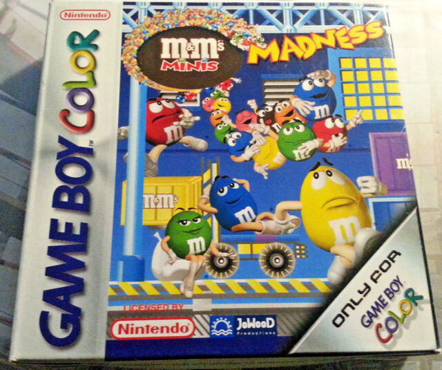Nintendo GameBoy Color M&M's Minis Madness CIB OVP TOP ZUSTAND