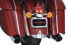 Kuryakyn Chrome LED Rear Fender Strip Brake Run Lights Accent Trim Indian 5690