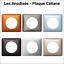 """LEGRAND Gamme Céliane Plaque de finition 1 poste /""""Les Anodisés/"""""""