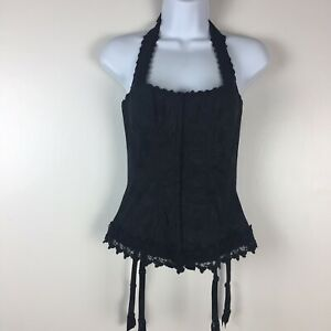Fredericks of Hollywood Corset 36,Hook,Eye,Lace,Bra,Ladies,Button,Size 36,New