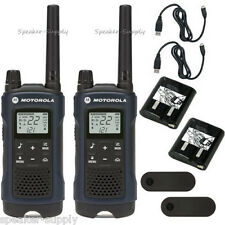 Motorola Talkabout T460 Walkie Talkie Set 35 Mile Two Way Radio Vibrate LED iVOX