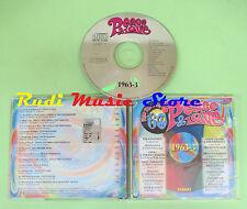 CD PEACE & LOVE 60 1963 3 compilation PROMO 2000 KINGSMEN TRINI LOPEZ CASH (C32)