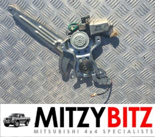 Finestra Regolatore e motore per MITSUBISHI L200 2.5 K64 K74 1996-2007 RH Posteriore