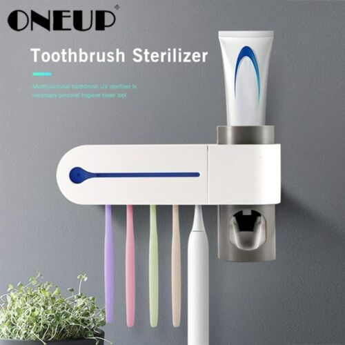 ONEUP Antibacteria Ultraviolet Toothbrush Holder Sterilizer Automatic