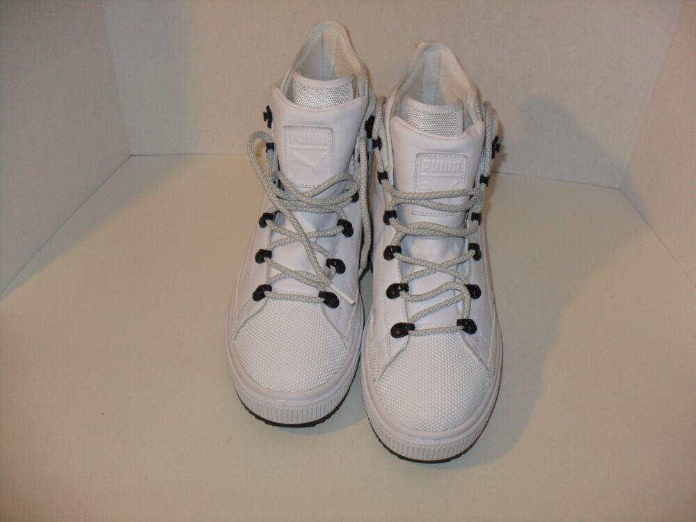 PUMA The Ren Bottes Walking chaussures blanc/Gum Soles 364337 02 Taille 7-C