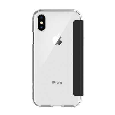 Incipio NGP Folio Case für Apple iPhone X, transparent/schwarz
