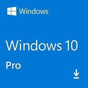 Microsoft Windows 10 Pro 32/ 64 bit Genuine License Key ...