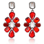 Elegant-Women-Rhinestone-Resin-Flower-Ear-Stud-Eardrop-Dangle-Earring-Jewelry thumbnail 2