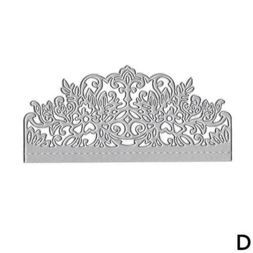 Wedding Invitation Lace Cutting Dies-Stencils-Scrapbook Card Embossing Craf N0D9