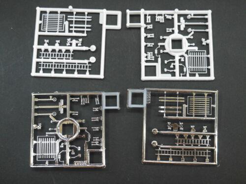 1:87 Herpa EM7037 4x Fanfahren und div Anbauteile für FH  für  Umbau Eigenbau