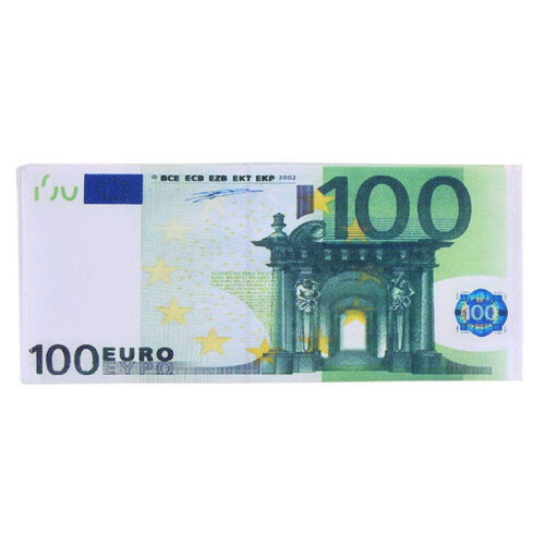 Chic Unisex Mens Womens Währung Notes Muster Pfund Dollar Euro Geldbörse