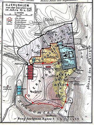 1911 Biblical ATLAS Bible ISRAEL Palestine 20 JERUSALEM MAPS Temple ...