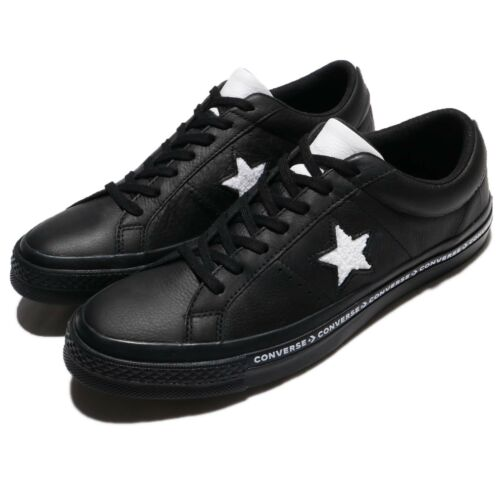 Terry Homme Leather Baskets 159721c Star One Sneakers Black Converse Chaussures REqZwx