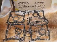 4 Duke 110 Body Traps/muskrat/rabbit/mink Trapping Sale