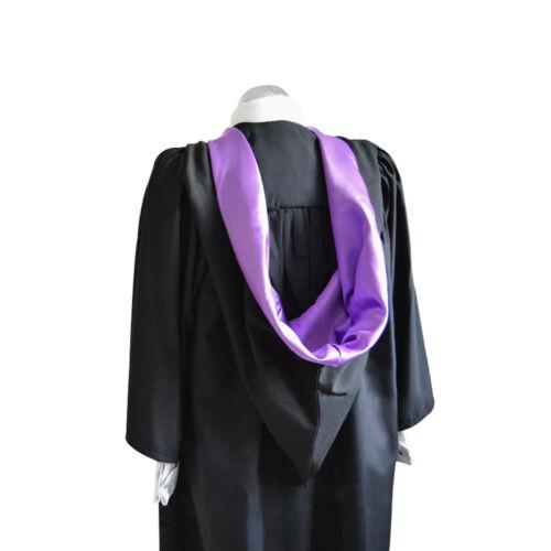 University Academic Hood Graduation Bachelors Masters Luxury Burgon Accessory