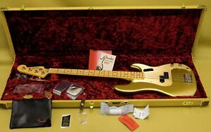 019-0102-878 Fender American Original '50s Precision Bass Aztec Gold With Case