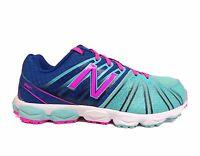 Balance Girls' Big Kids 890 Running Shoes Blue/pink Kj890sag A1