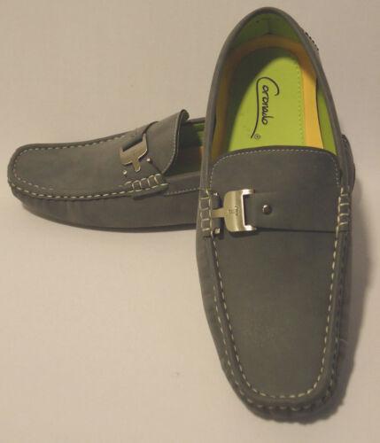 Scarpe 5 Soft alla Fashion Grigio Slip moda Mens Moc Touch Loafers On guida da RZUUAq