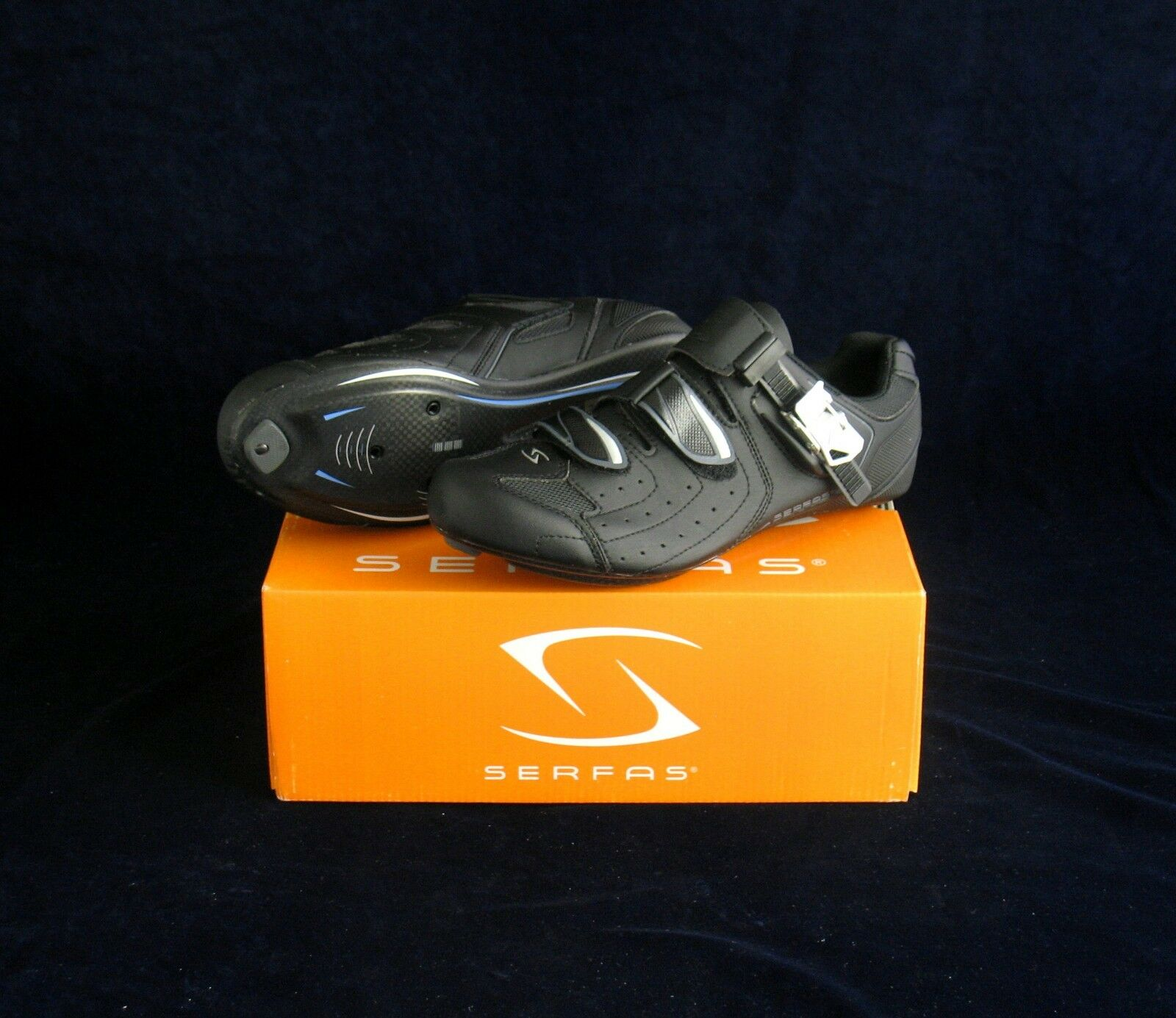 SERFAS HYDROGEN ROAD CYCLING SHOES 6.5, 7.5, 9