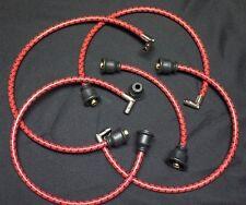 Ih Farmall Red Cub Amp Lo Boy Deluxe Cloth Covered Copper Spark Plug Wire Set