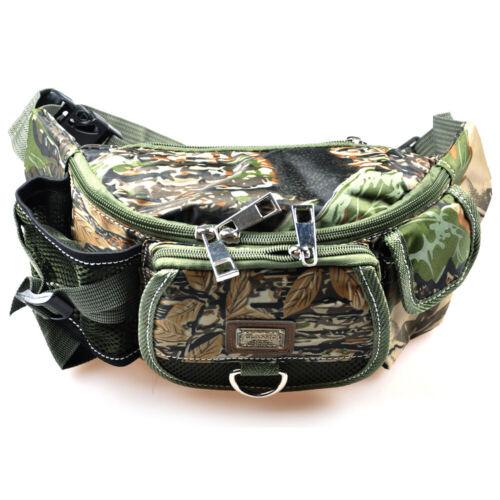 Waterproof Carp Fly Lure Fishing Waist Bag Fanny Pack Multifunctional Tactic Bag