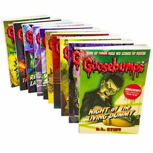 Goosebumps-Classic-Series-10-Books-Children-Collection-Paperback-By-R-L-Stine