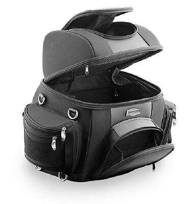 Kuryakyn Grantour Sissy Bar Travel Bag - Harley Luggage 4141