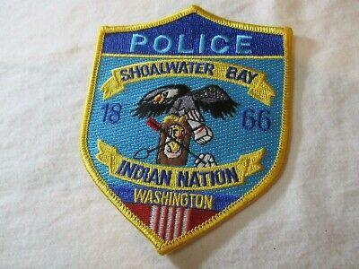 SHOALWATER BAY WASHINGTON TRIBAL POLICE SHOULDER PATCH