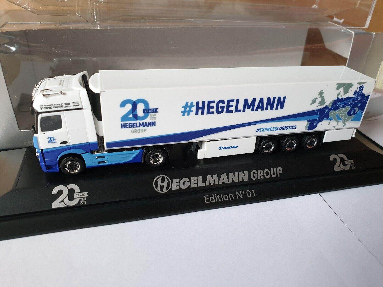 Actros 11  HEGELMANN Group   Express Logistics 20 Years-PC 76689 Karlsdorf NO.1