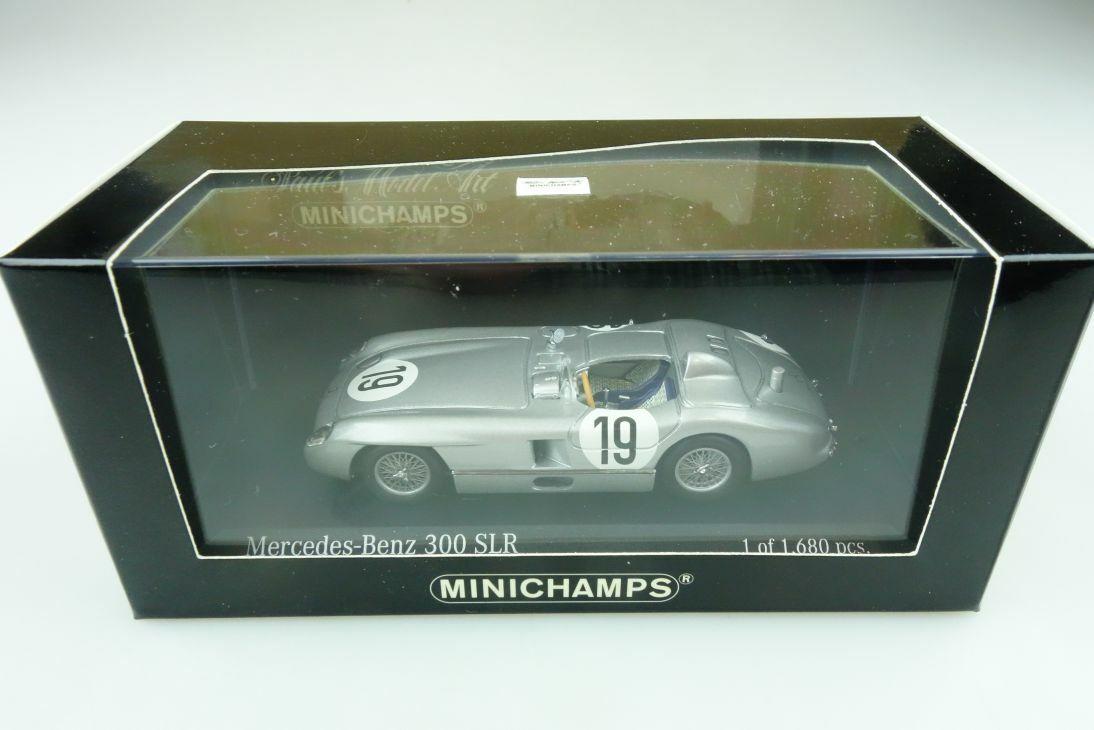 553000 Minichamps 1 43 Mercedes Benz 300 SLR Le Mans 1955 with Box 511763